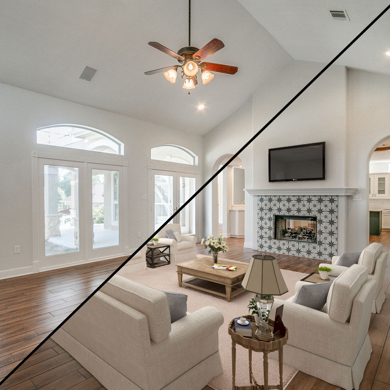 Home Staging Gallery: Premier Realty Services